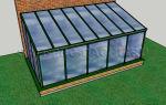 Пристенные теплицы: характеристика, фото пристроенных к дому, монтаж, видео – выращиваем в теплице
