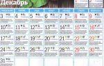 Лунный посевной календарь на декабрь 2018 года: благоприятные дни, чем заняться, таблица, приметы – выращиваем в теплице