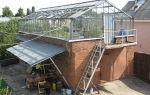 Теплица на крыше: гаража, дома, особенности конструкции, фото, видео – выращиваем в теплице